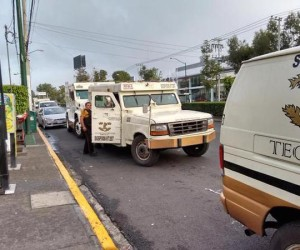 Asaltan camioneta de valores en Galerías Coapa, se llevan 4.5 millones de pesos
