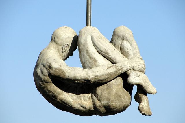 Monumento contra la tortura en Boa VIsta, Brasil. Foto: Márcio Cabral