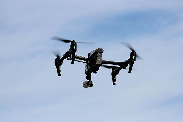 Drones vigilan al narco