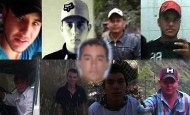 jovenes desaparecidos