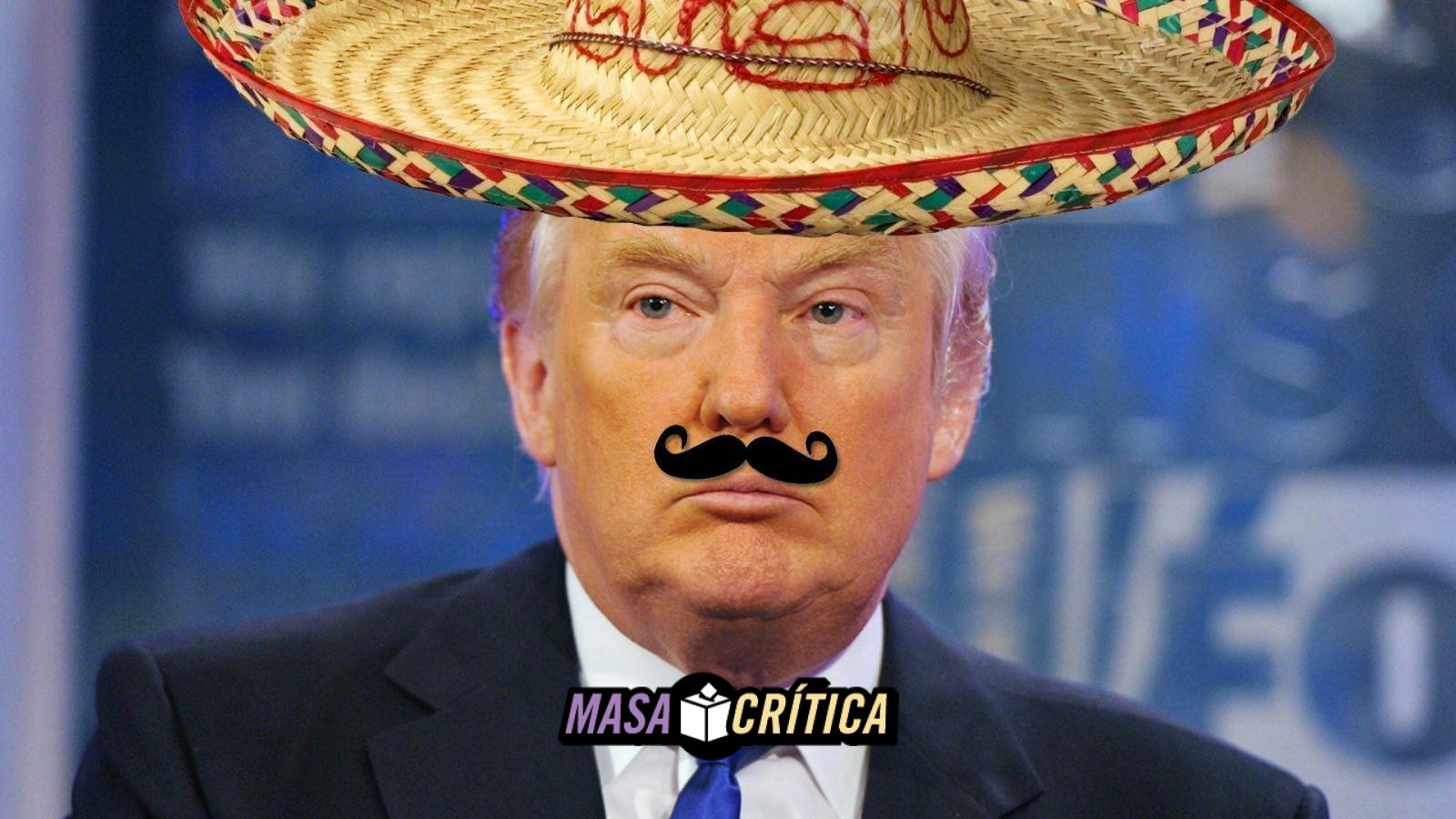 Bronco trump mexicano