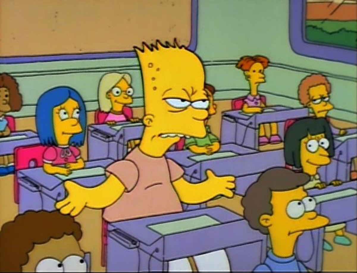 unam, jóvenes, estudiantes, adultos, barth, simpsons, barth adulto