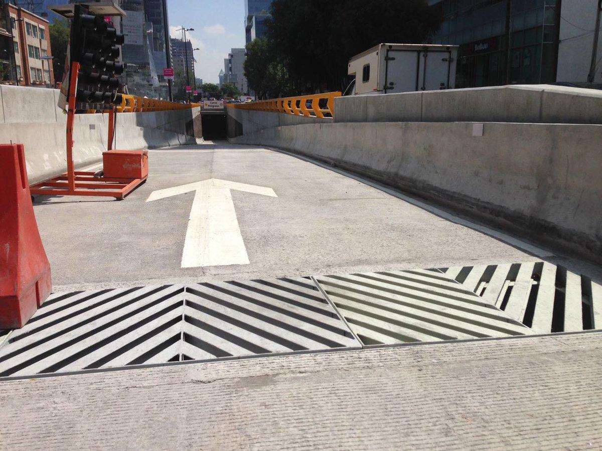 Túnel de Mixcoac Insurgentes no abrirá hasta agosto.