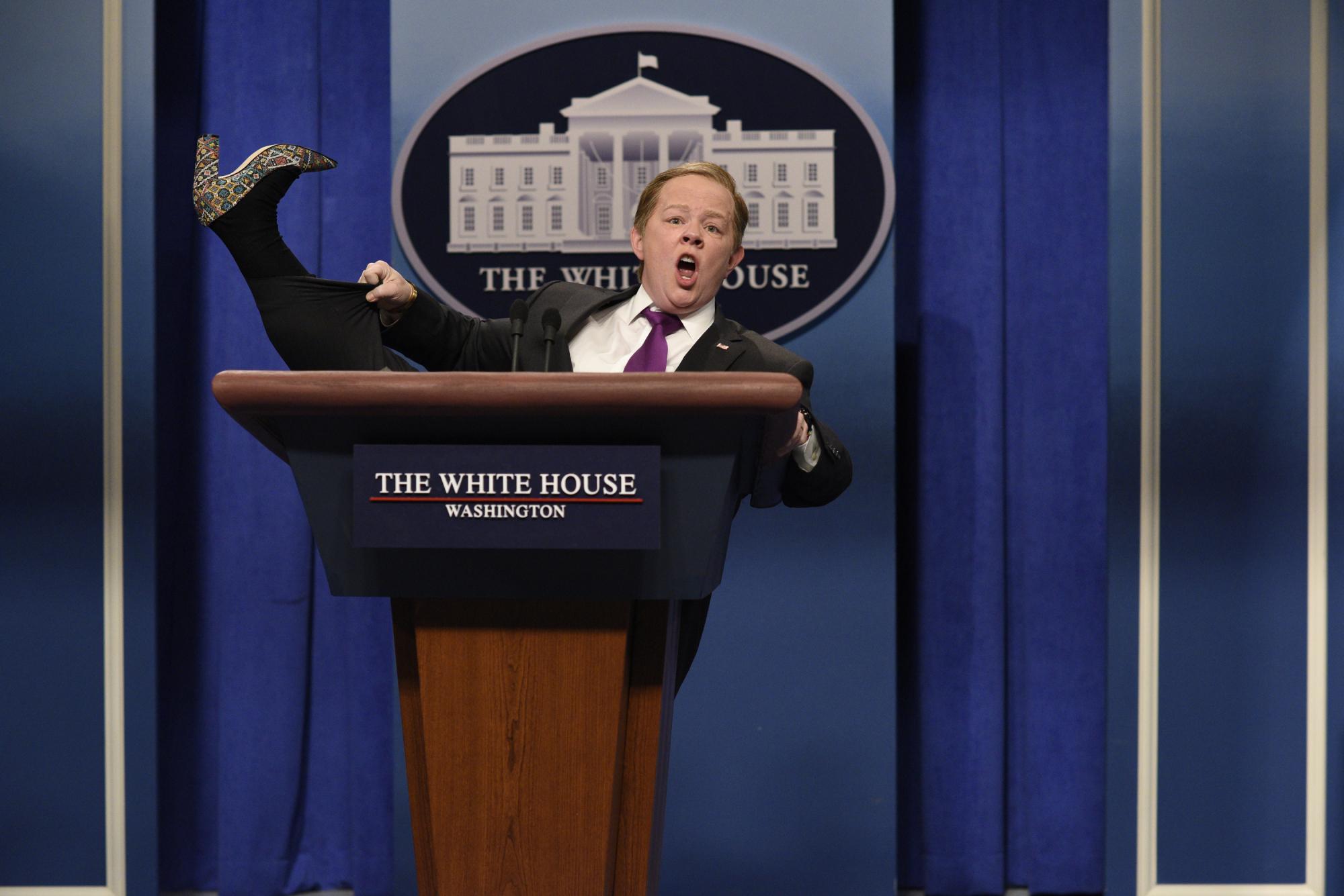 Sean Spicer renuncia por nombramiento de Scaramucci