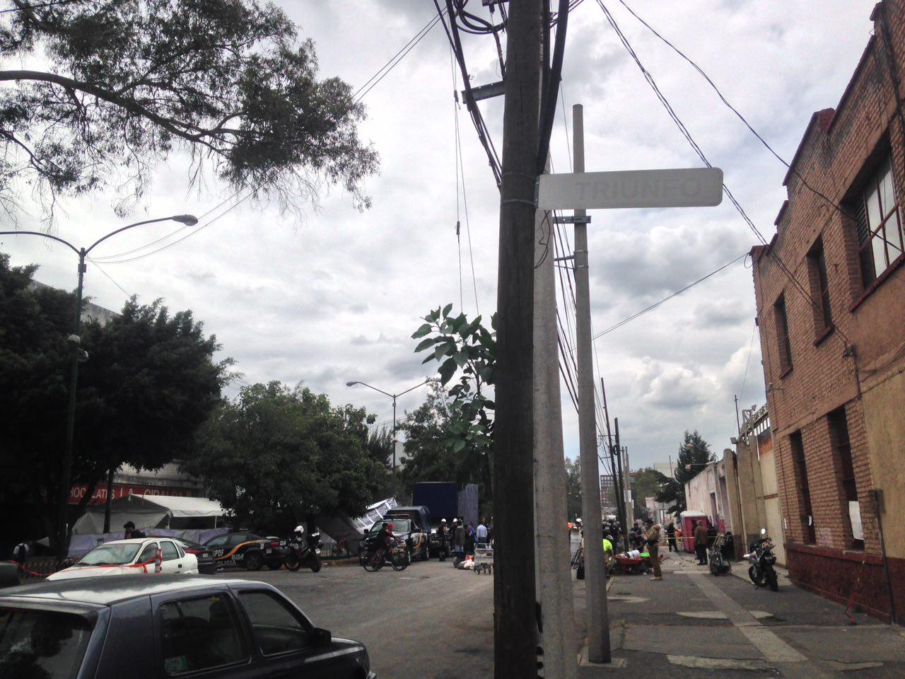 sismo Chimalpopoca trabajadoras sótano cisterna Bolivar