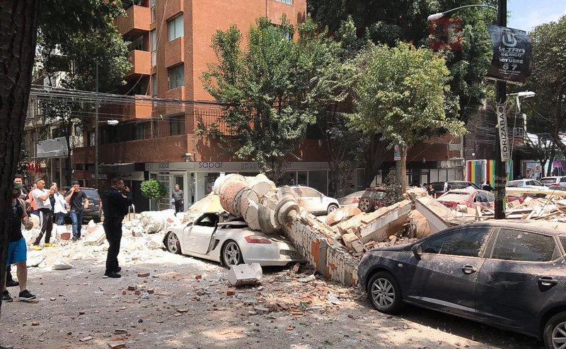 PGJCDMX abre carpeta de investigación por derrumbes