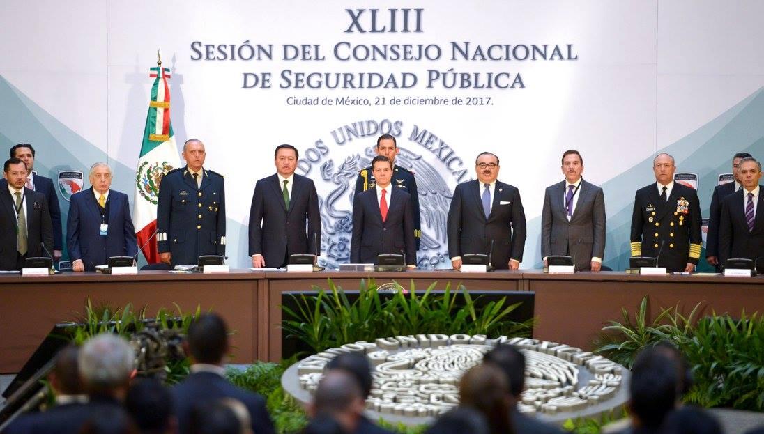 Peña Nieto promulga LEY de Seguridad Interior
