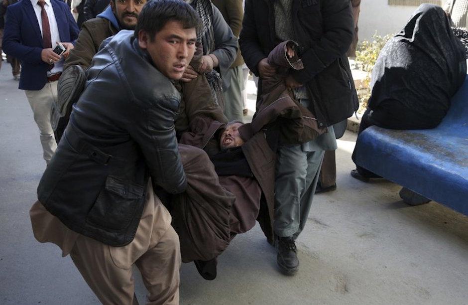 atentado en kabul reivindicado por el Estado Islámico