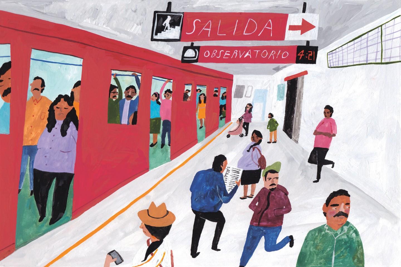 ¿Qué piensan los turistas extranjeros del Metro de la Ciudad de México?