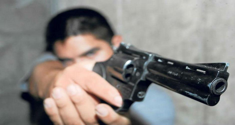 Detención de menores con armas de fuego aumentó 163% en CDMX