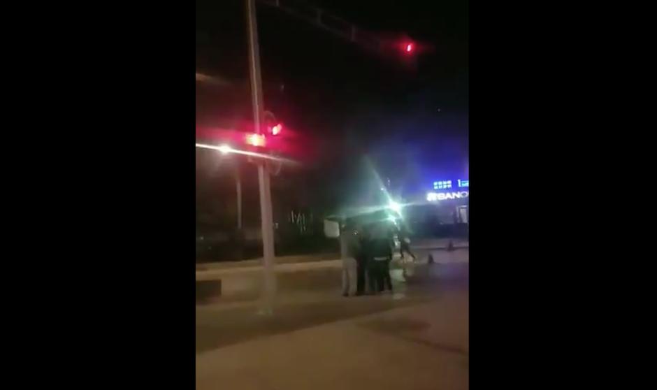 Captan asalto 'en bolita' en pleno Paseo de la Reforma