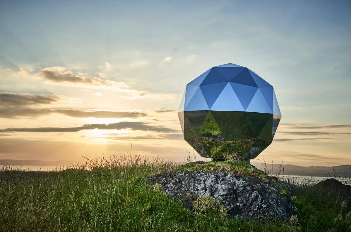 La empresa Rocket Lab lanzó en secreto una estrella llamada Humanity Star, que orbitará la Tierra durante nueve meses.