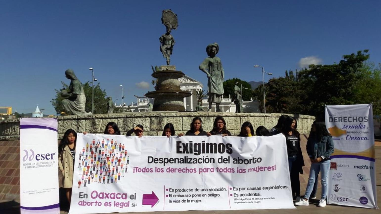 La red que acompaña a mujeres a terminar su embarazo en Oaxaca