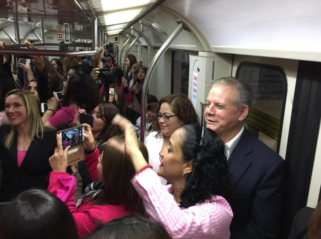 Jorge Longoria Treviño hace broma sobre acoso en vagón exclusivo