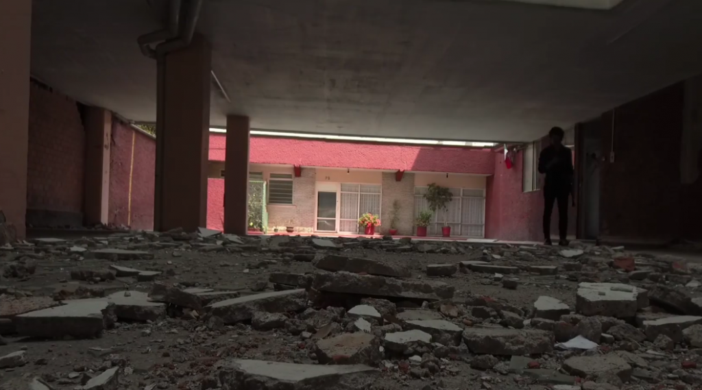 Colonia Portales sismo 19 de Septiembre