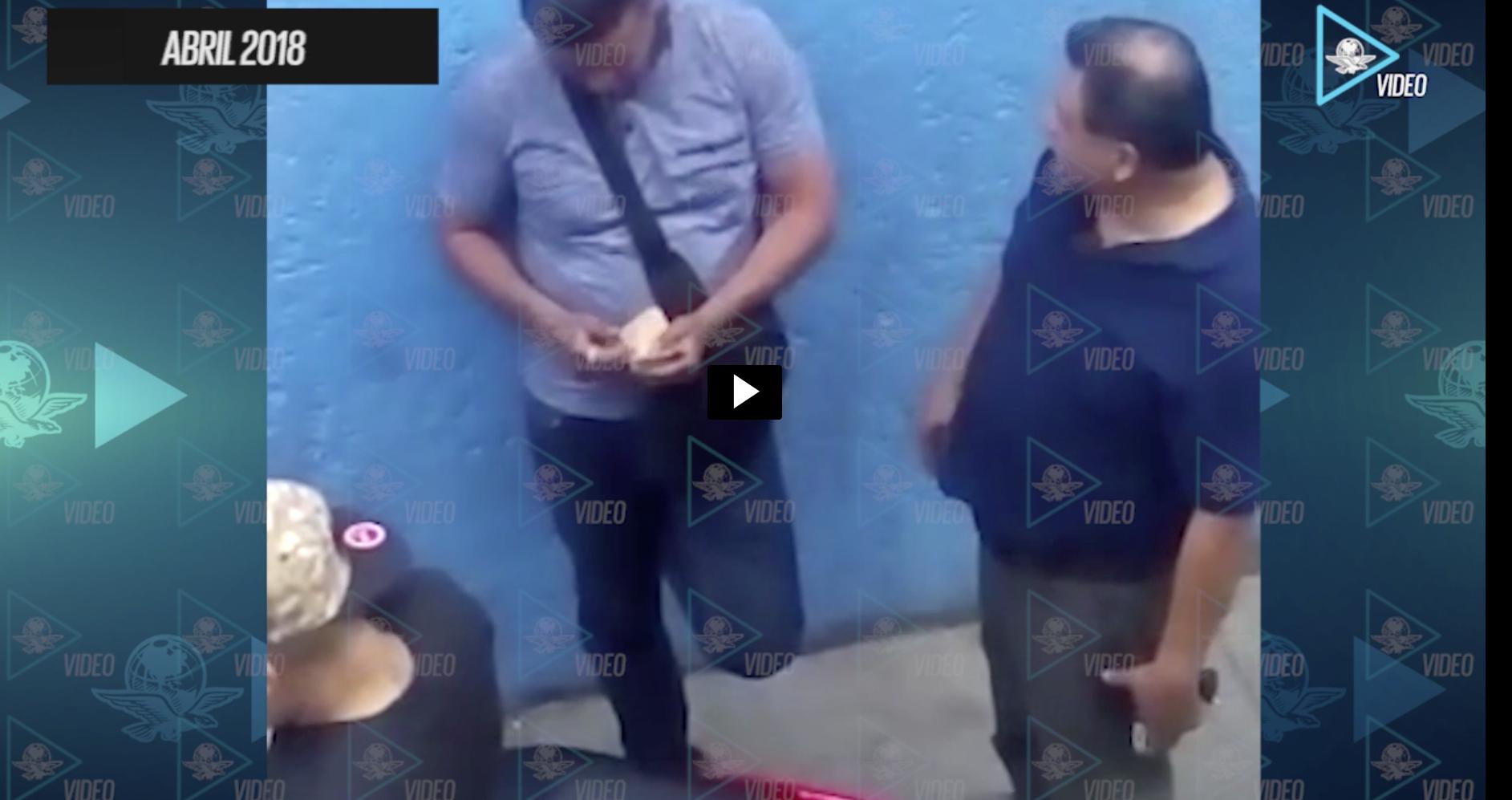 Captan a mando policiaco recibiendo mordida de líder criminal de Tepito