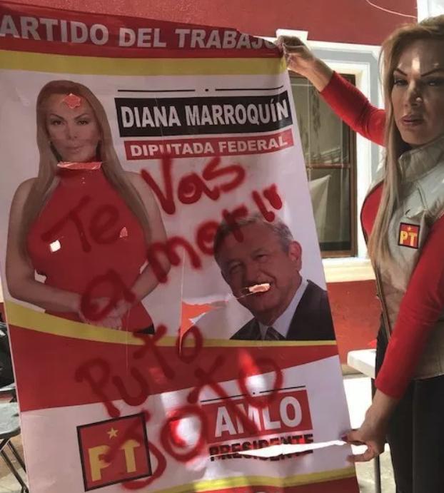 Diana Marroquín Bayardo Ataques Amenazas Tulancingo Hidalgo