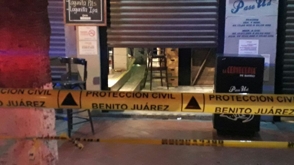 Balacera en Cervecería del Barrio en Universidad con Pilares