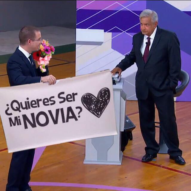 México Memes Debate Anaya AMLO Bronco