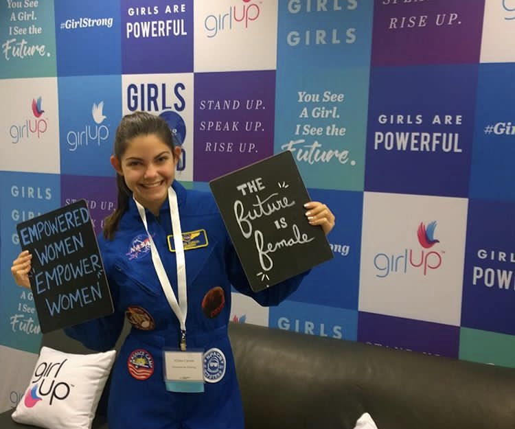 Alyssa Carson, la adolescente 'astronauta'