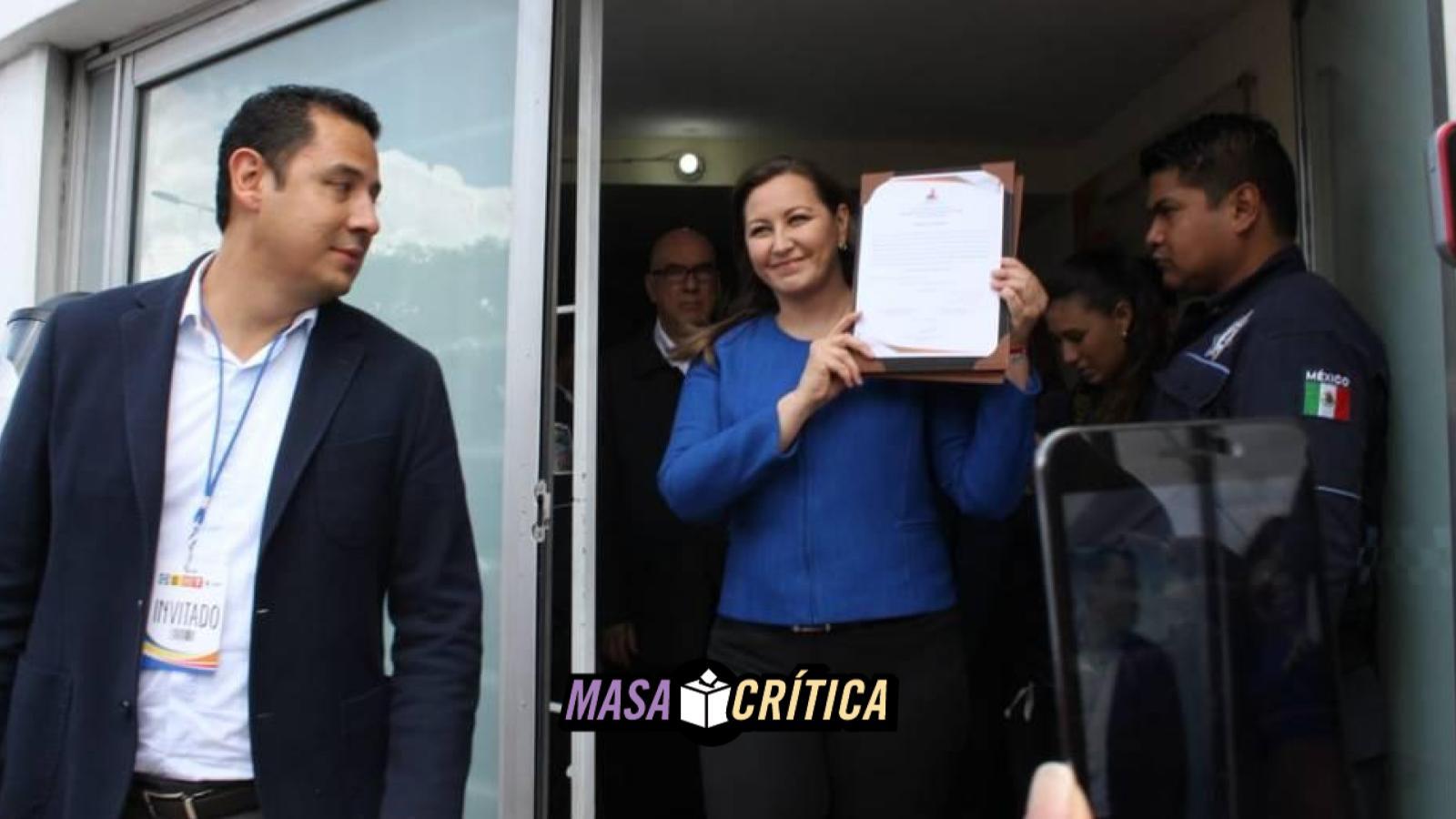 Martha Erika Alonso, Puebla, Constancia de mayoría