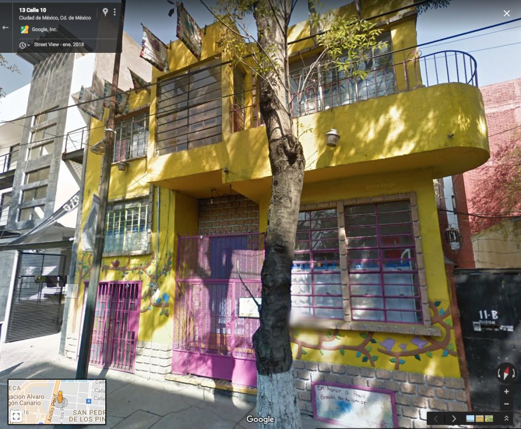 Colegio Liebe, ubicado en San Pedro de los Pinos, en CDMX