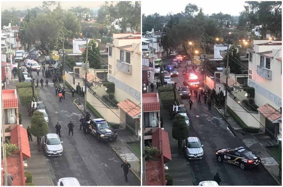Balacera en casa de Coyoacán: 2 muertos y un herido