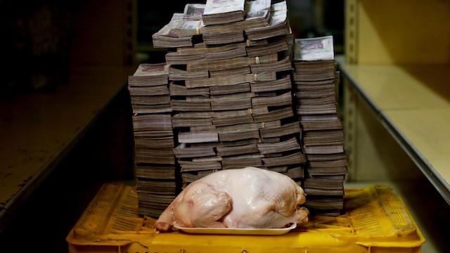 precio pollo Venezuela