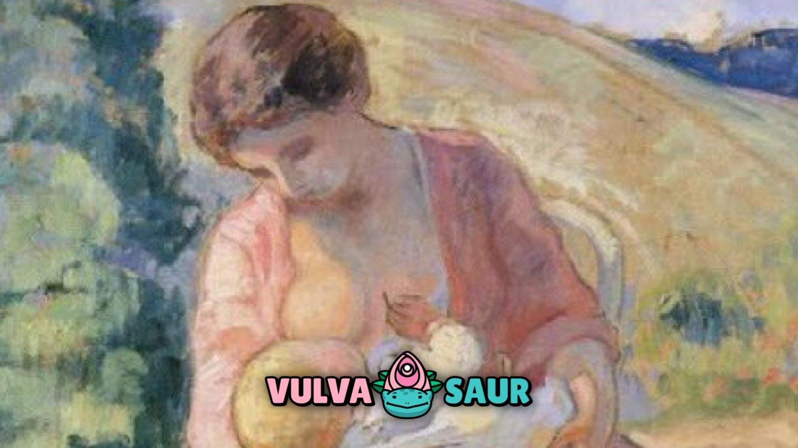 vulvasaur, lactancia, feminismo
