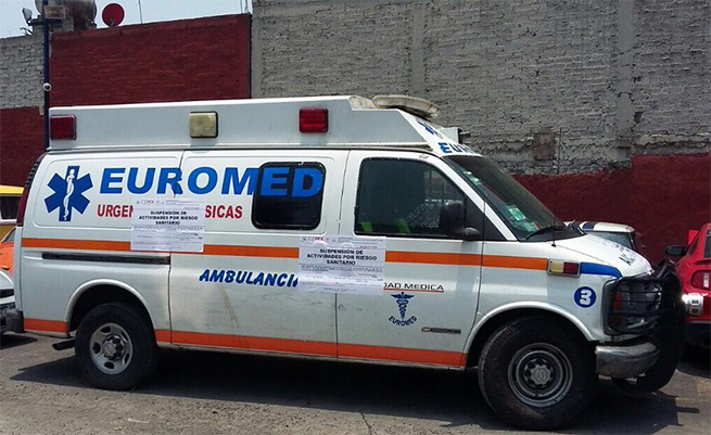 Ambulancia, Patito, Atropella, Hospital, Euromed