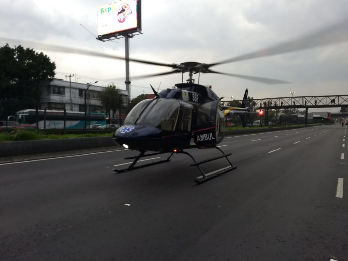 Cierre, Emergencia, Ambulancia, Tlalpan