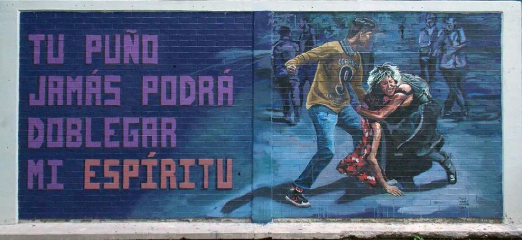 CCH Vallejo Mural Joel Sebastián Meza Porros CU