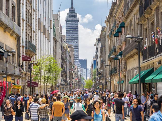México productividad OCDE