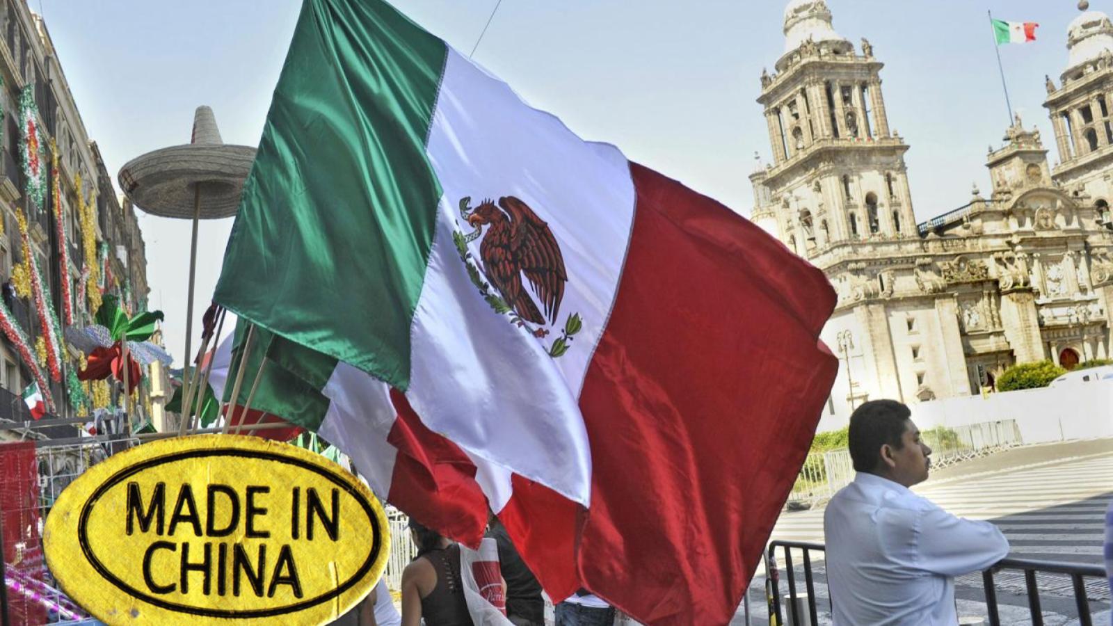 Tu bandera mexicana para el grito fue hecha en China
