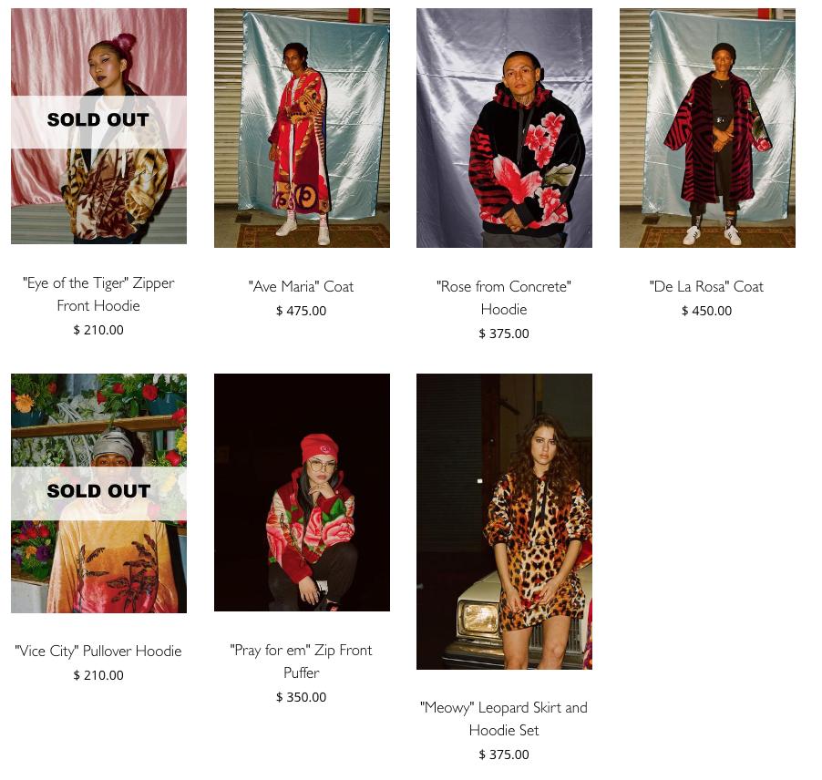 Catálogo de la colección de Brenda Equihua