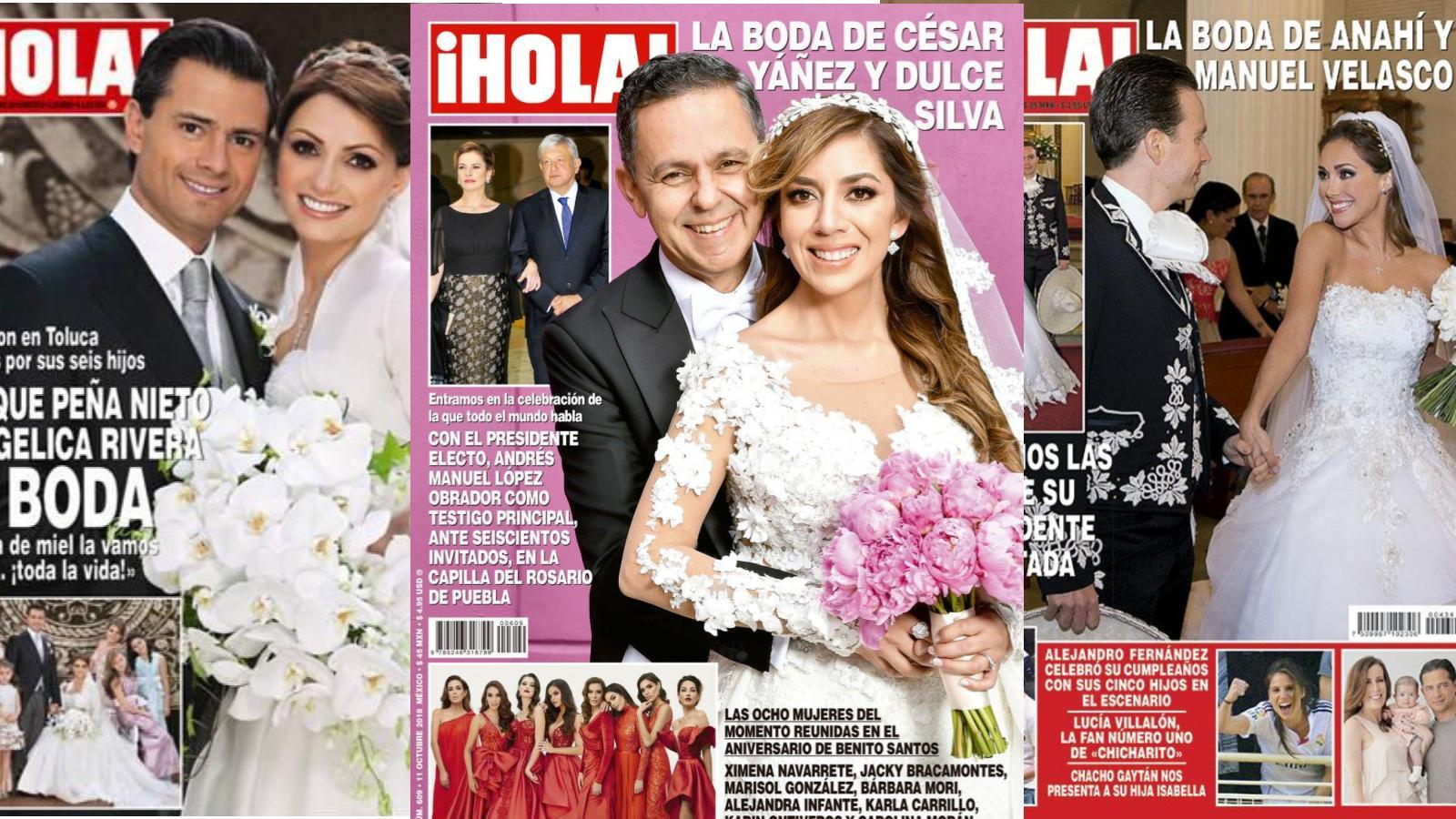 Indigna boda de César Yáñez en revista Hola