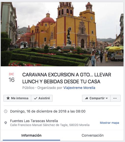 Organizan viaje a Guanajuato con comida preparada