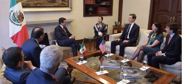 Reunión entre Kushner, EPN y Videgaray