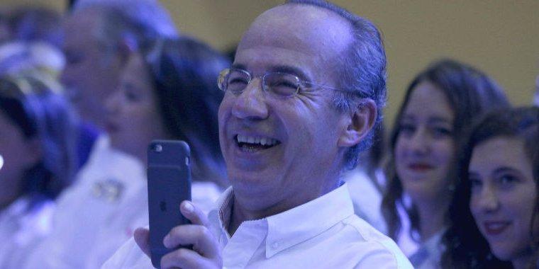 Calderón dice que fundará nuevo partido ajeno al PAN