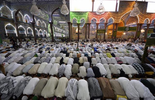 Musulmanes conflicto religioso