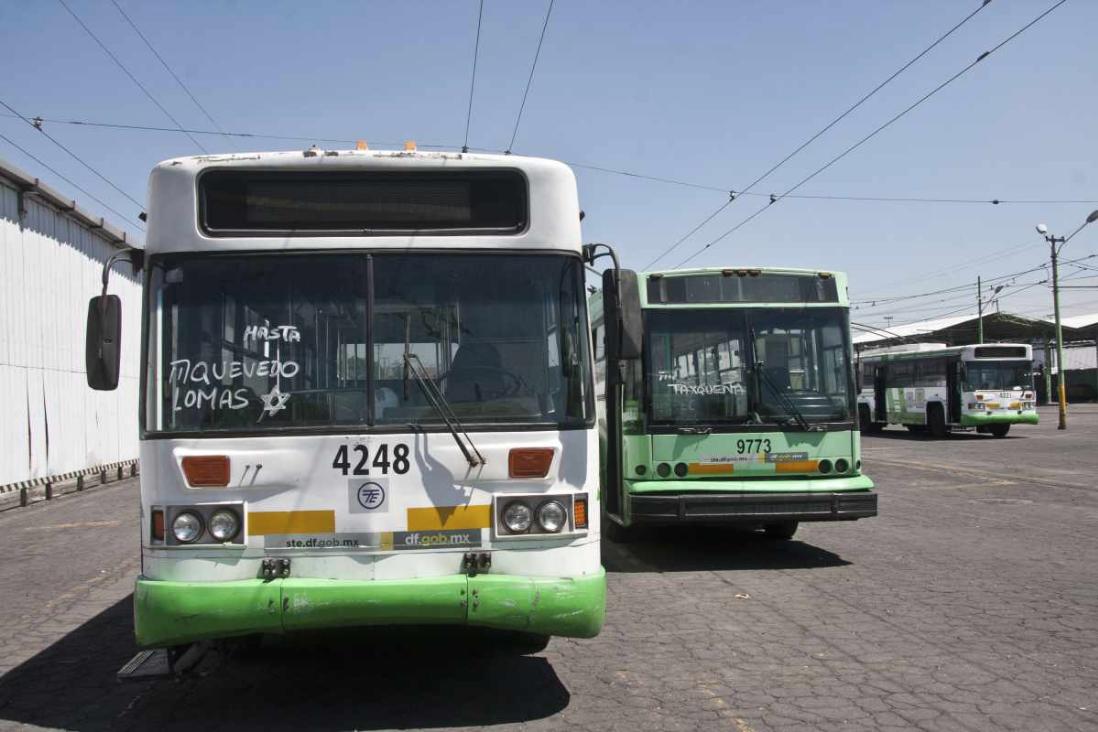 Trolebús en CDMX: obsoleto, sin unidades y sin presupuesto