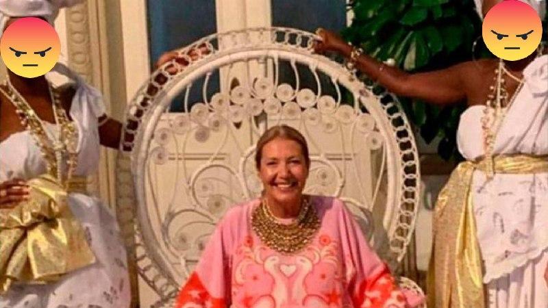 La fiesta racista de la directora de Vogue Brasil