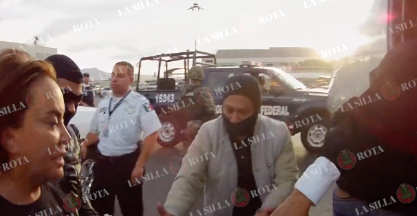 Así fue la detención de Elba Esther Gordillo en video