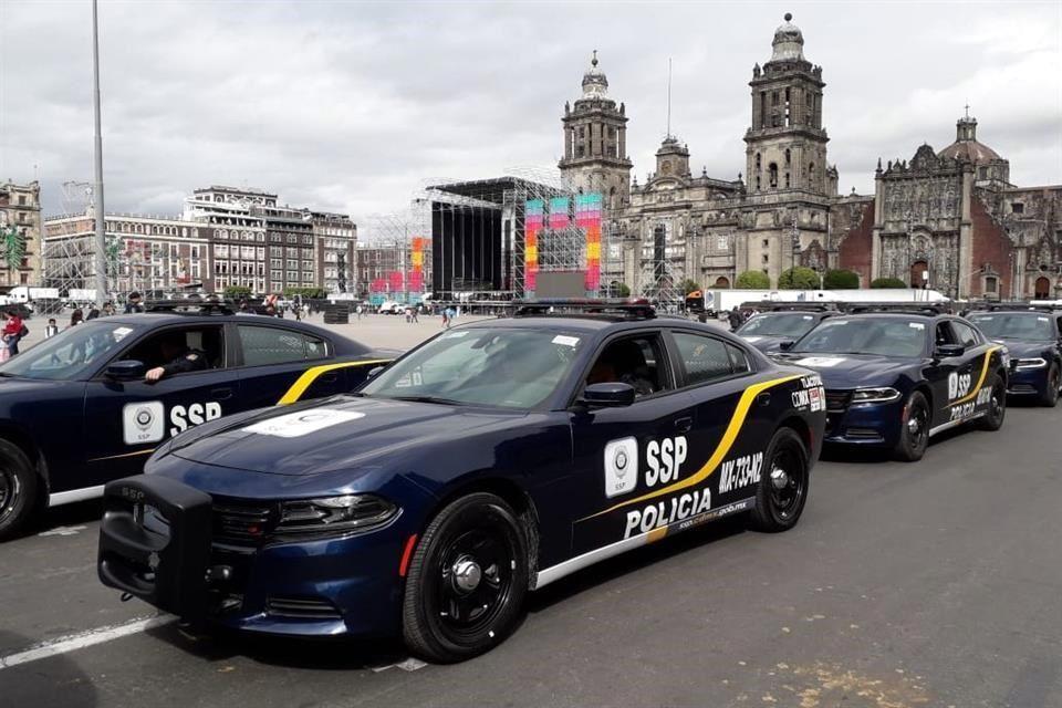 Policías roban gasolina, Huachicoleo de patrullas, huachicol digital, Robo, Gasolina, Patrullas, CDMX,