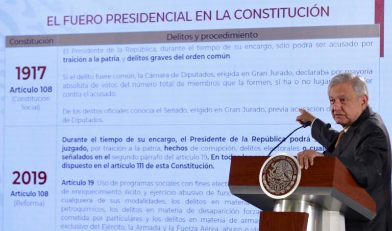AMLO, Fuero, Presidente, Corrupcion