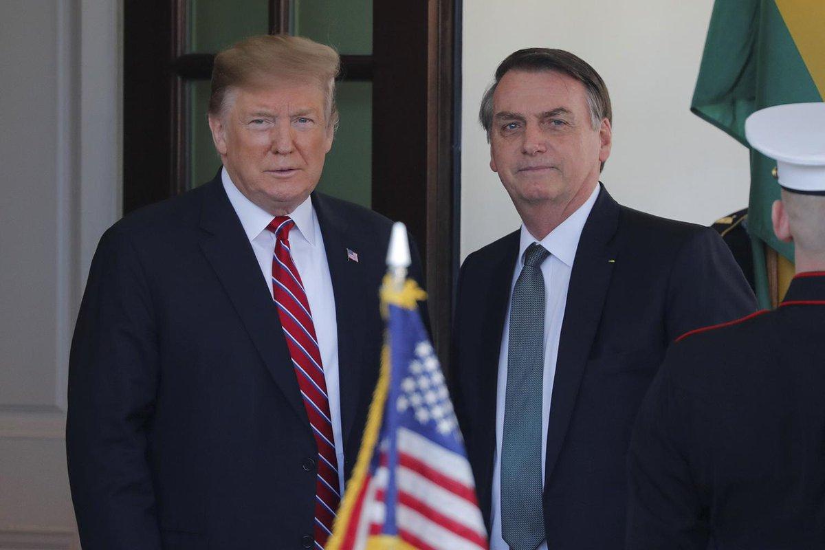 trump, bolsonaro, muro fronterizo