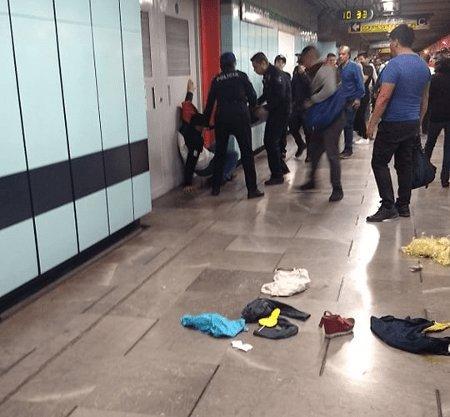 Echan gas pimienta dentro de vagón de línea B del metro