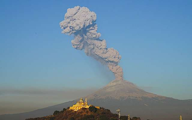 ¿Qué hacer si el Popocatépetl hace erupción?