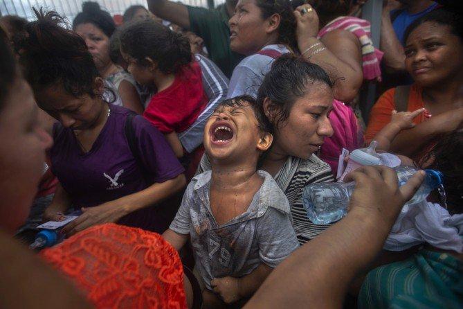 morena, migrantes