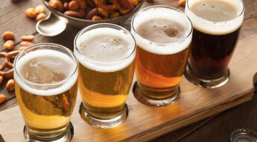 morena, cerveza